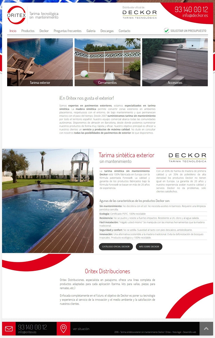 Oritex - Web