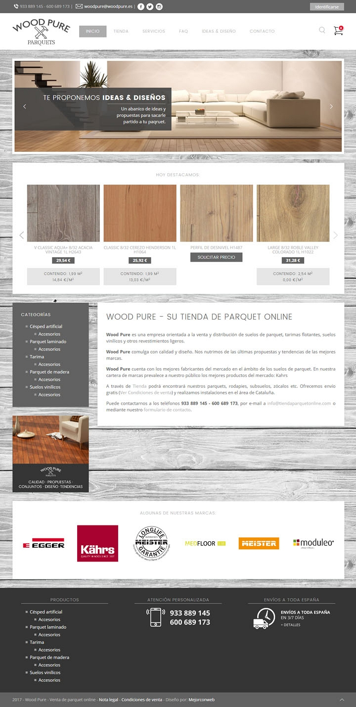 Wood Pure - Web